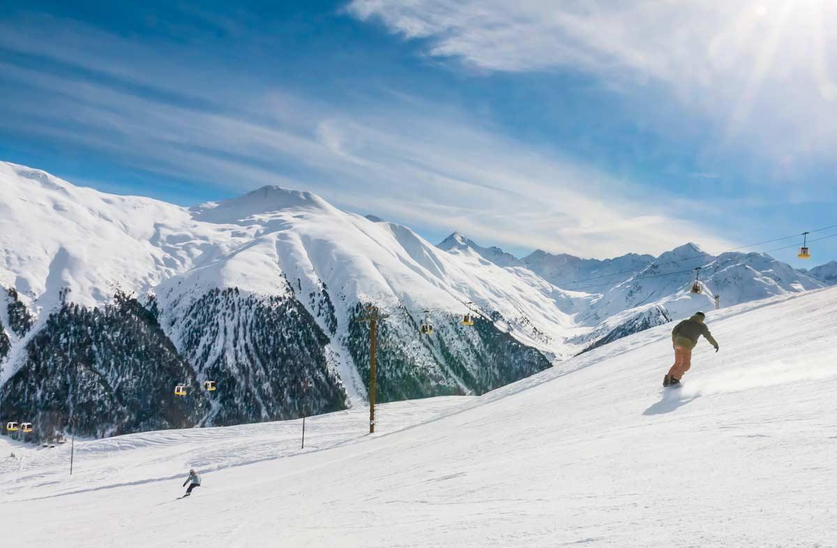 Sněhové Zpravodajství: Čtyři Metry Sněhu V Itálii